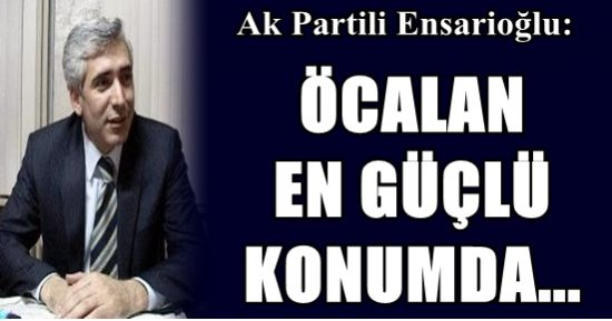 AKP'Lİ VEKİL: PKK SEÇİLSİN GELSİN...