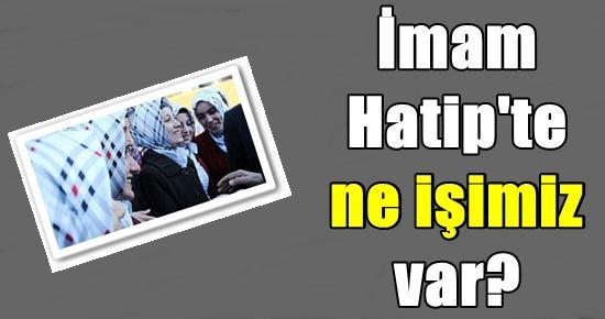 ALEVİ ÇOCUKLARI İMAM HATİP'E KAYDETTİLER!