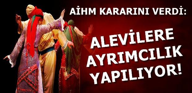 ALEVİLERLE İLGİLİ ÖNEMLİ KARAR...