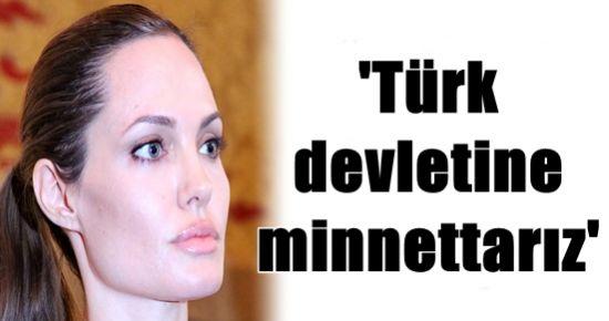 ANGELİNA JOLİE TÜRKİYE'Yİ ÖVDÜ!