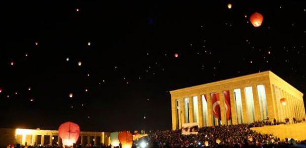ANITKABİR'İ HİÇ BÖYLE GÖRMEDİNİZ!
