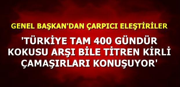 'ARŞI BİLE TİTRETTİNİZ AKP'LİLER...'