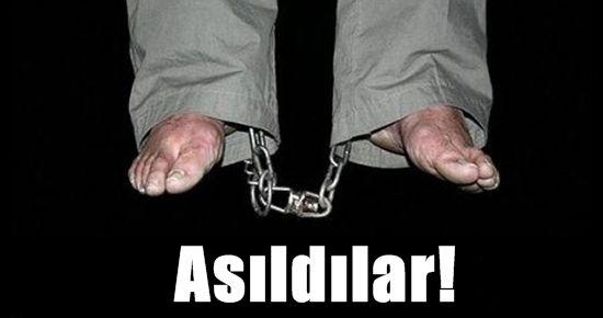 ASILDILAR!