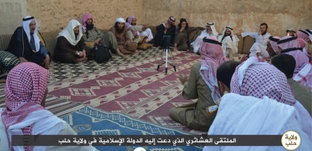 AŞİRET LİDERLERİ DE IŞİD'E KATILDI