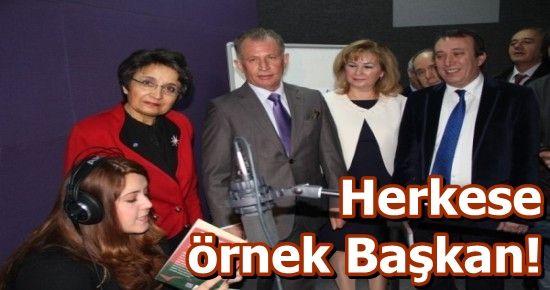 ASLAN BAŞKAN YİNE BİR İLKE İMZA ATTI...