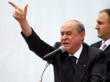 BAHÇELİ'DEN 'EDEBİNLE ÇEKİL' ÇAĞRISI