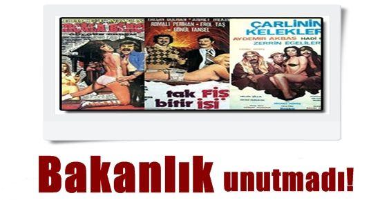 BAKANLIK SEKS FİLMLERİNİ UNUTMADI!