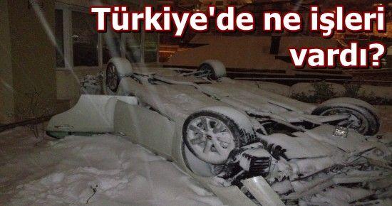 BARZANİ KAZA YAPTI, HEM DE BEYKOZ'DA!
