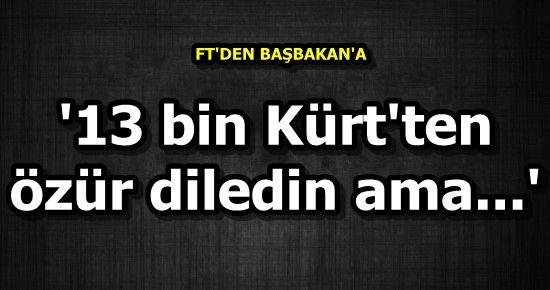 BAŞBAKAN'A YOL GÖSTERDİ...