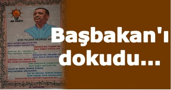 BAŞBAKAN'I HALIYA DOKUDU