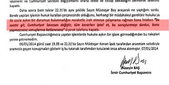 BASKININ BELGESİ DEPREM YARATTI!