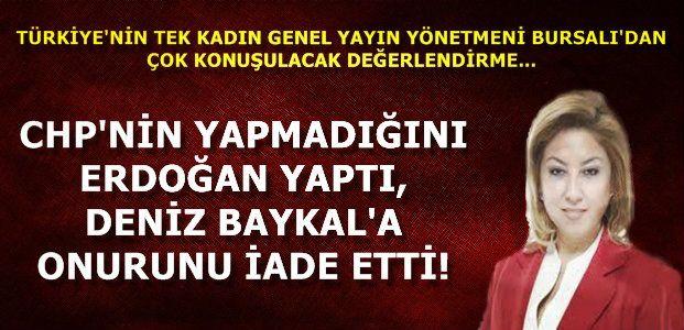 'BAYKAL'IN ONURU İADE EDİLMİŞTİR'