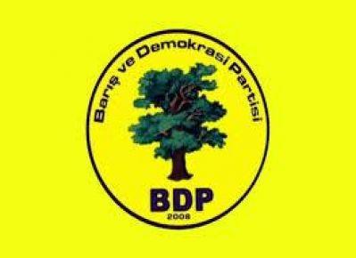 BDP'DEN ÖRNEK TAVIR...