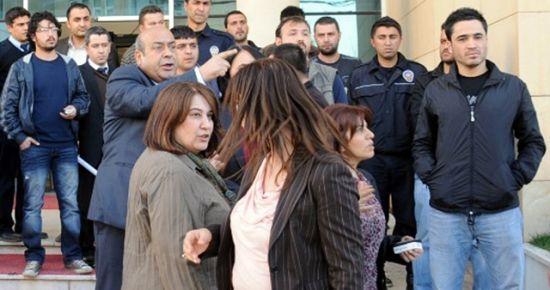 BDP'Lİ VEKİL POLİSE KÜFRETTİ