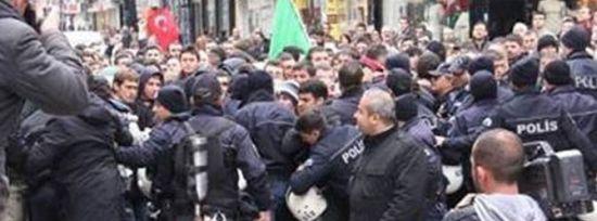 BDP'LİLERİ PROTESTO ETTİLER DİYE HAPİS...