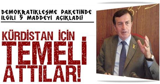 BEŞ MADDEYİ PKK HAZIRLADI DEDİ.. İŞTE O MADDELER!