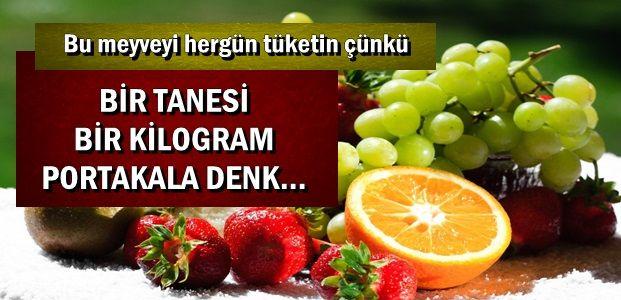 BİR TANESİ BİR KİLO PORTAKALA DENK...