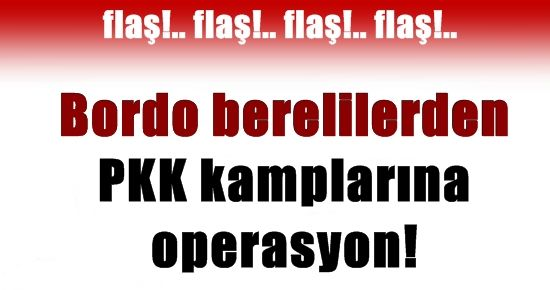 BORDO BERELİLER PKK KAMPLARINDA!