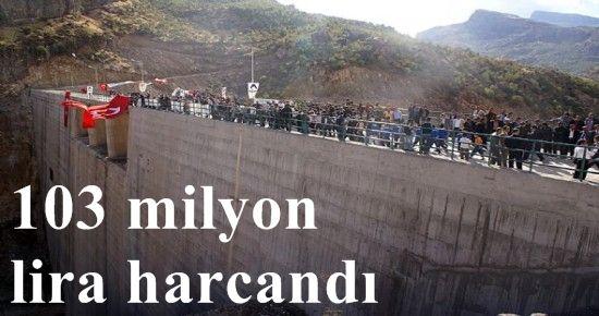 BU BARAJLAR PKK İÇİN!