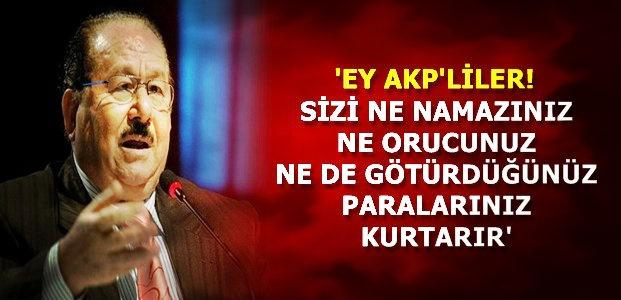 'BU SİSTEM ÜLKEYİ FELAKETE SÜRÜKLER'