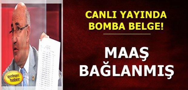 CANLI YAYINDA BOMBA İDDİA!