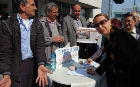 CHP'NİN PINAR'I EMEKLİNİN DE YANINDA