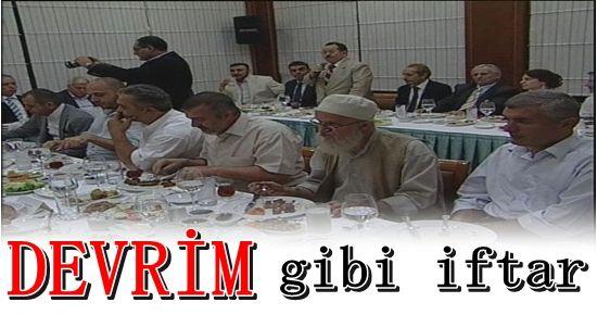 CHP'NİN TAKKELİ, SAKALLI İFTARINI YAZDI...