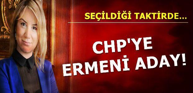 CHP'YE ERMENİ ADAY...