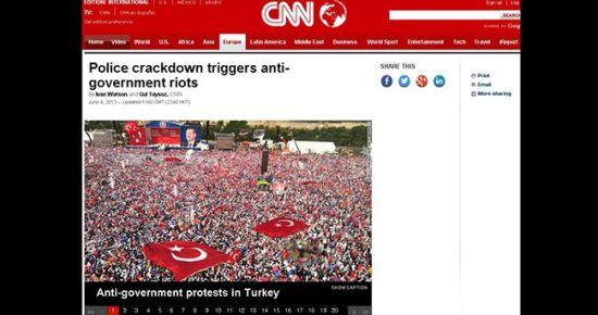 CNN YİNE KIZDIRDI!