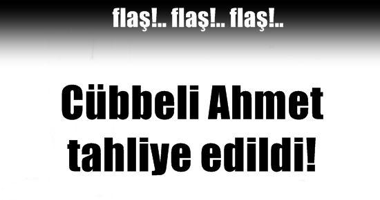CÜBBELİ AHMET HOCA ARTIK SERBEST!