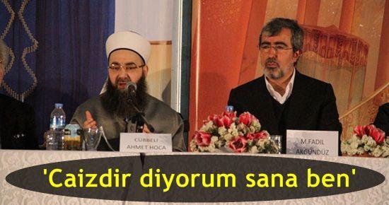 CÜBBELİ HOCA'DAN CAPRİCE GOLD FETVASI!