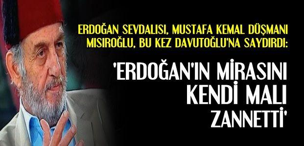 DAVUTOĞLU'NA VERDİ VERİŞTİRDİ...