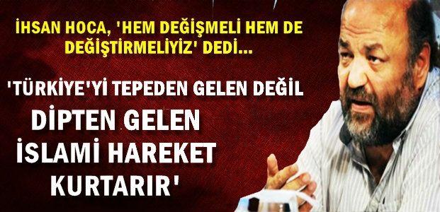 'DEĞİŞİM RÜZGARLARI BAŞLADI'
