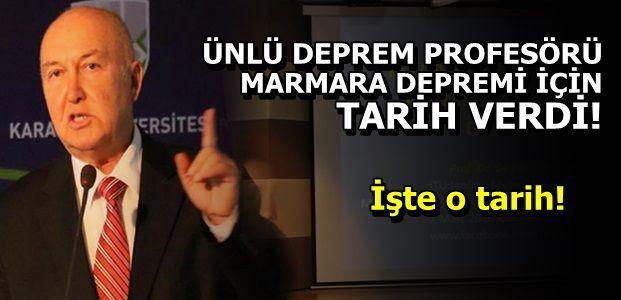 DEPREM PROFESÖRÜNDEN FLAŞ AÇIKLAMALAR!