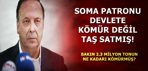 DEVLETE KÖMÜR DEĞİL TAŞ SATMIŞ!