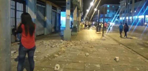 EKVADOR'DA 7.8'LİK DEPREM...