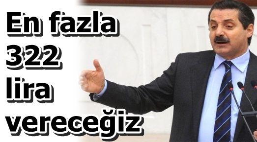 EMEKLİYE ZAM BU KADAR OLACAK...