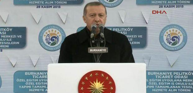 ERDOĞAN'DAN 'ELÇİ' AÇIKLAMASI...