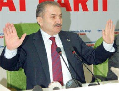 ERDOĞAN'I 'ANGUT' İLAN ETTİ..