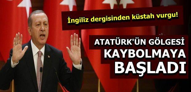 ERDOĞAN'I ÖVDÜ, ATA'YI YERDİ...