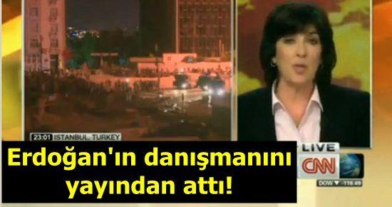 ERDOĞAN'IN DANIŞMANINI YAYINDAN ATTI!