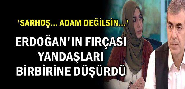 ERDOĞAN'IN FIRÇASI YETTİ...