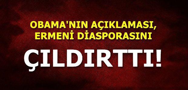 ERMENİ DİASPORASI ÇILDIRDI...