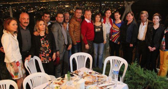 EŞSİZ MANZARADA 'MANGAL PARTİSİ'...