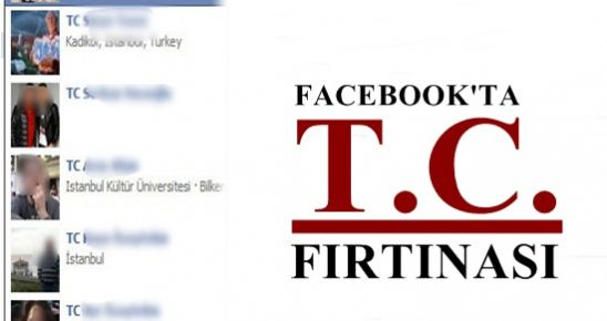 FACEBOOK'TA T.C. FIRTINASI...