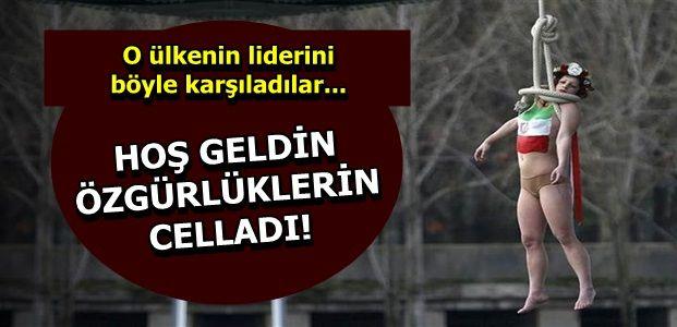 FEMEN YİNE YAPTI, YAPACAĞINI...
