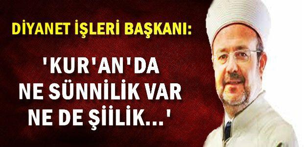 'FİTNEYLE KARŞI KARŞIYA KALIRIZ'