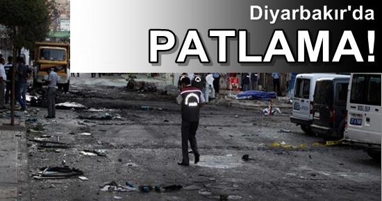 FLAŞ! DİYARBAKIR'DA PATLAMA!