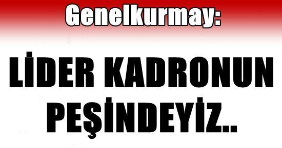 GENELKURMAY BAŞKANI ÖZEL AÇIKLADI...