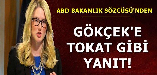 GÖKÇEK'E TOKAT GİBİ YANIT!